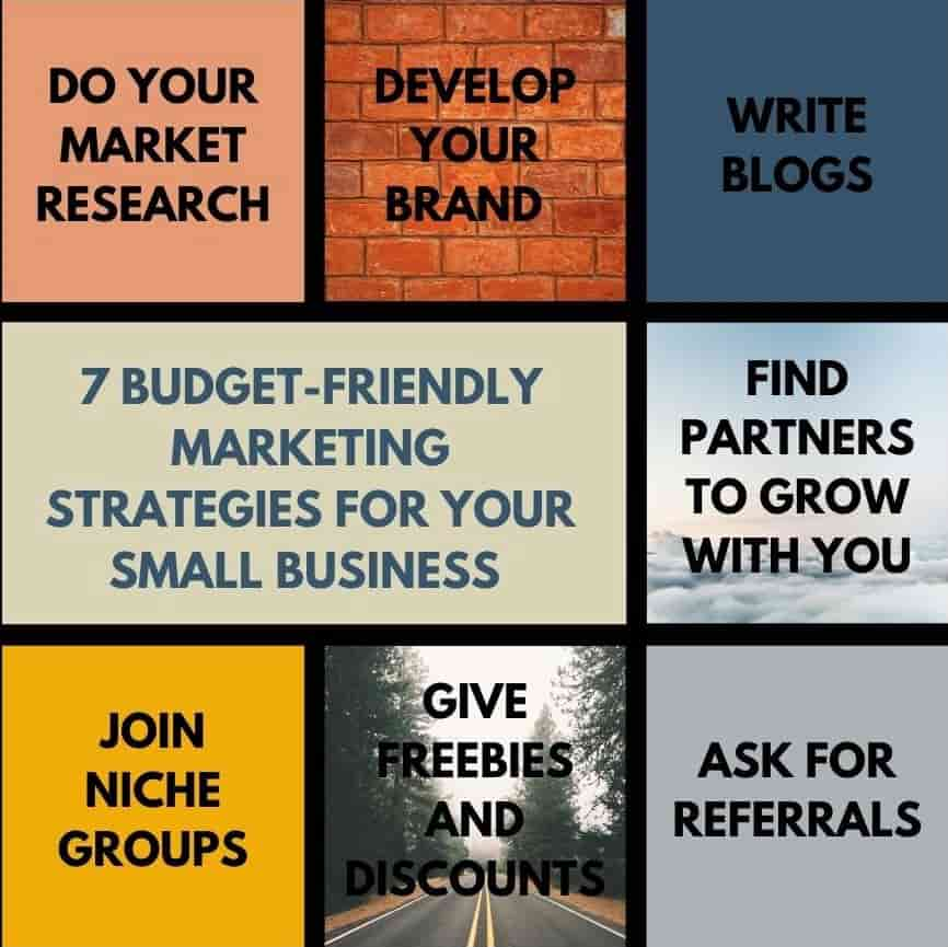 7 Budget-friendly marketing strategies for your small business (1)