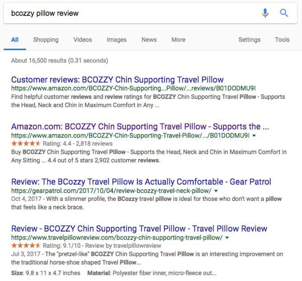 Bcozzy-travel-pillow