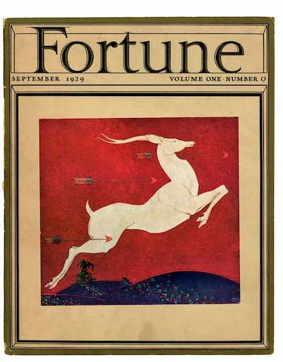 Cover of Fortune's Prototype Issue