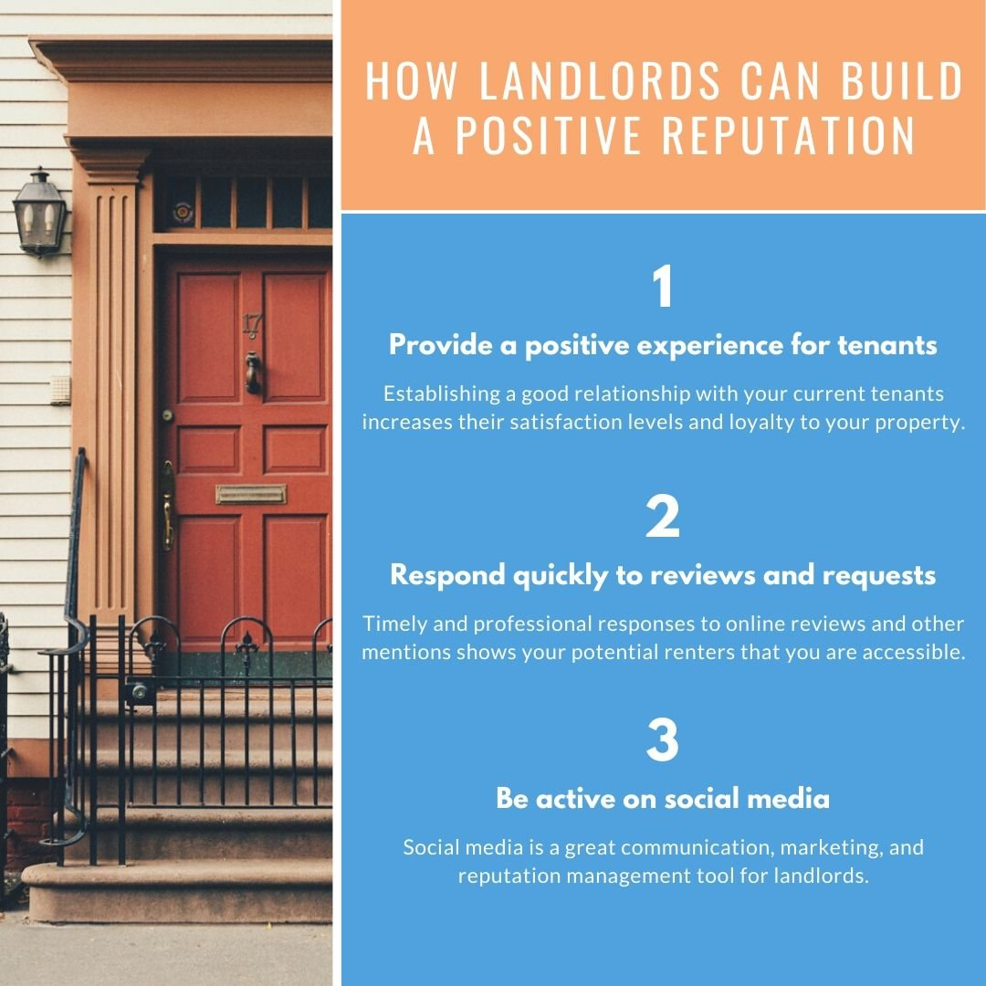 How landlords can build a positive reputation