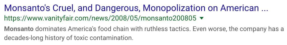 Monsanto-cruel-serp