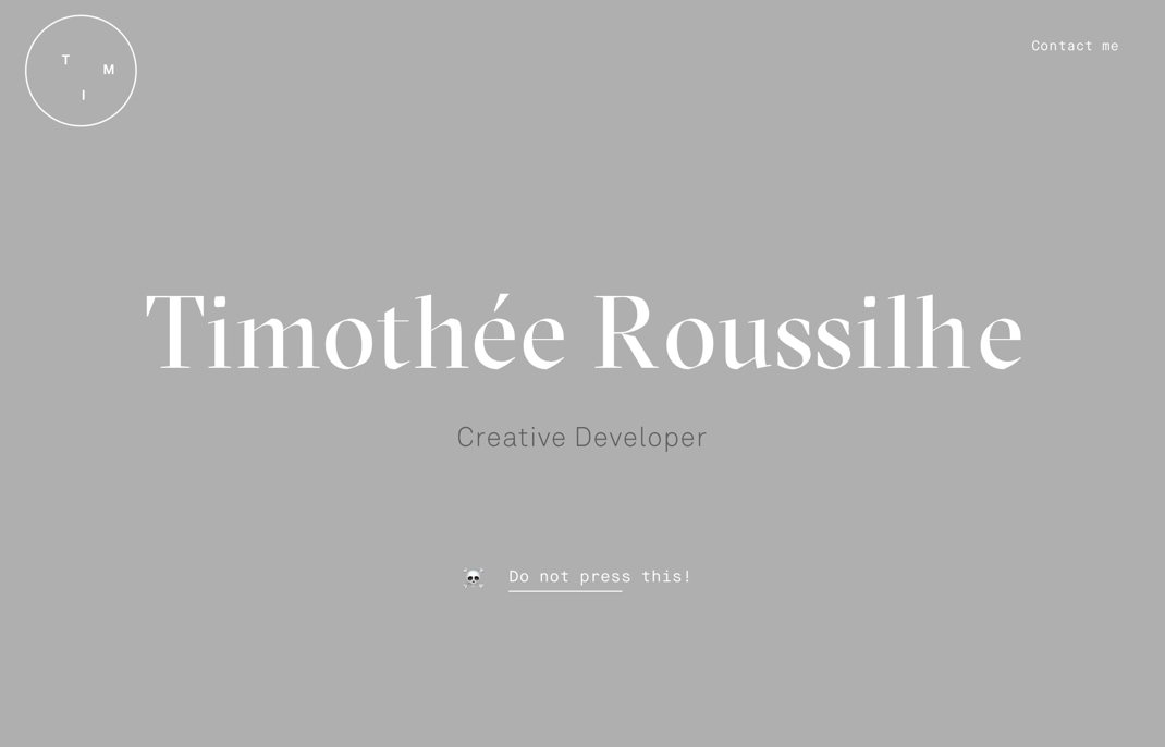 Timothee Roussilhe
