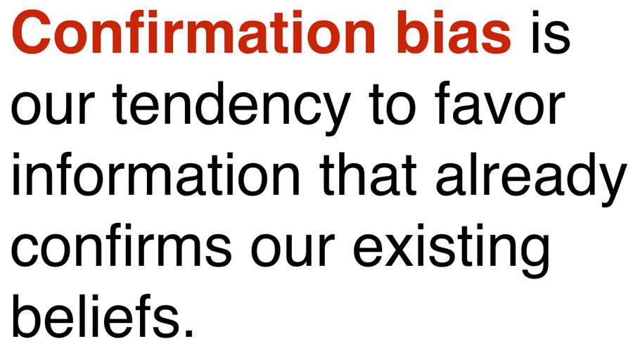 confirmation-bias-definition