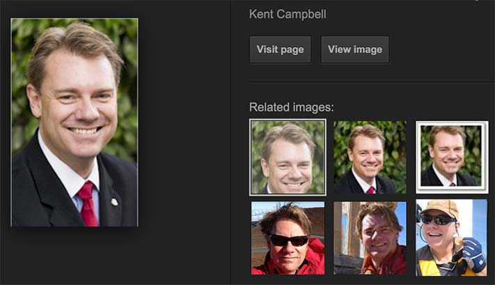 Images of Kent Campbell from Google Image search results
