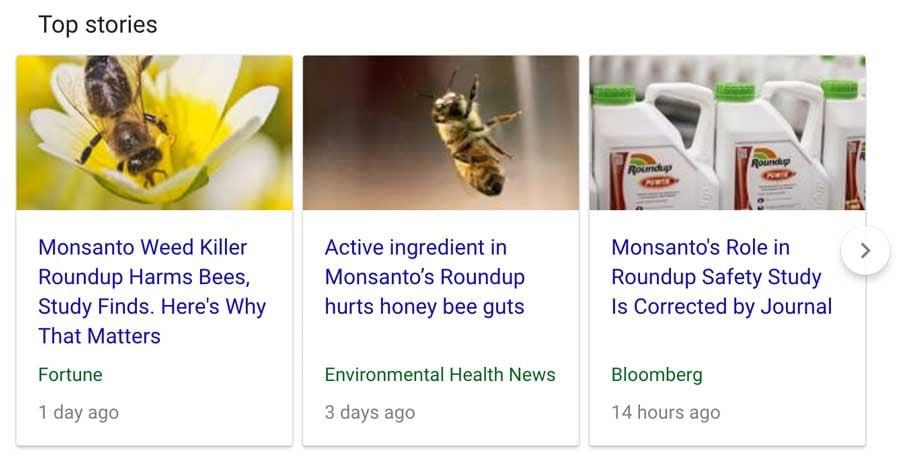 monsanto bees roundup