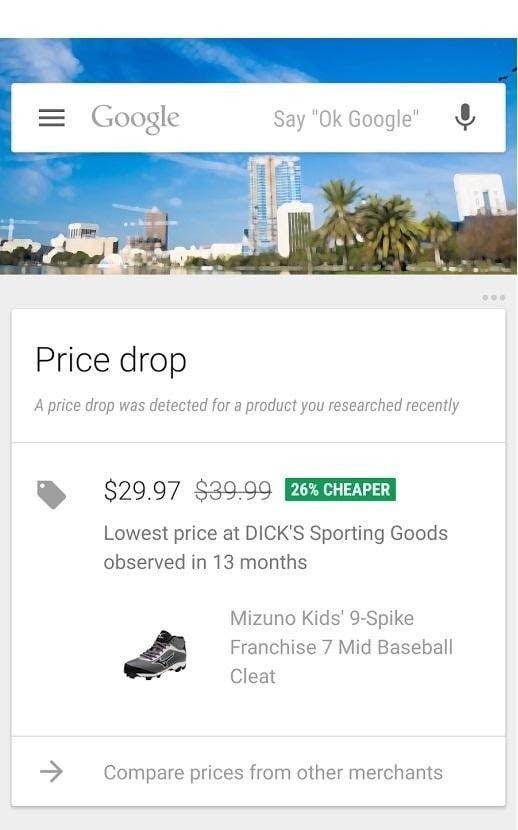shoe notification