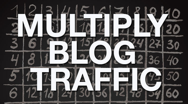 Syndicating blog posts for more traffic