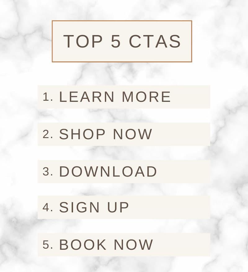 top 5 ctas