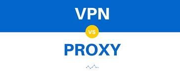 The difference between a VPN and a proxy