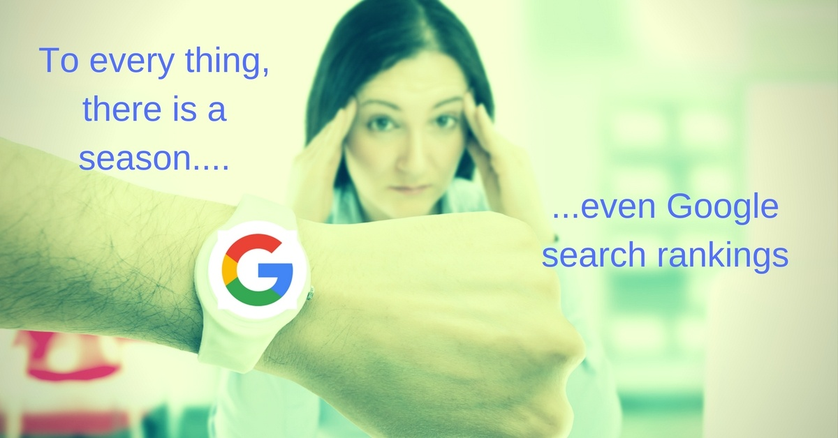 Why Does It Take So Long to Improve Search Rankings?